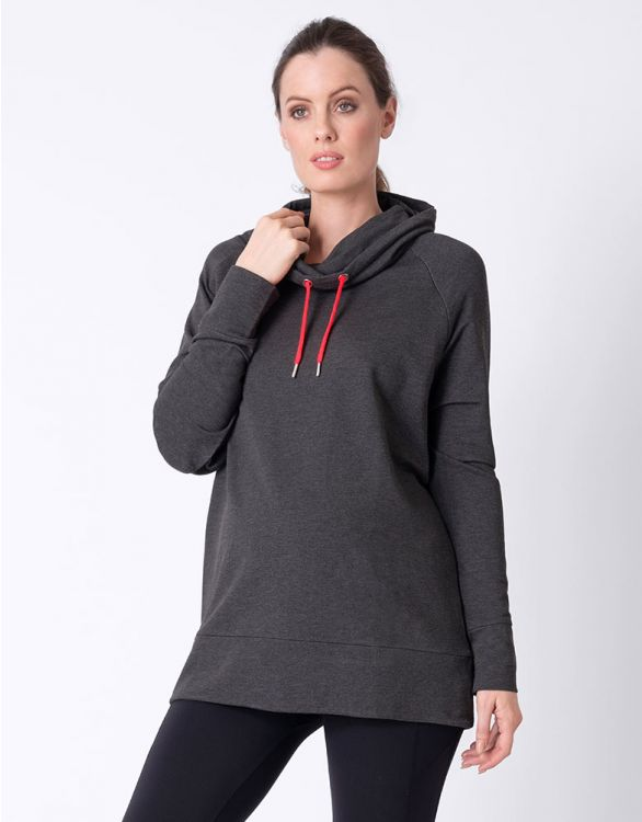 Image for Sports Luxe Maternity & Nursing Sweatshirt
