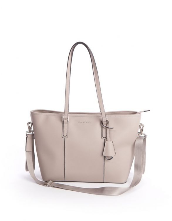Image for Seraphine Cambridge Leather Baby Changing Bag