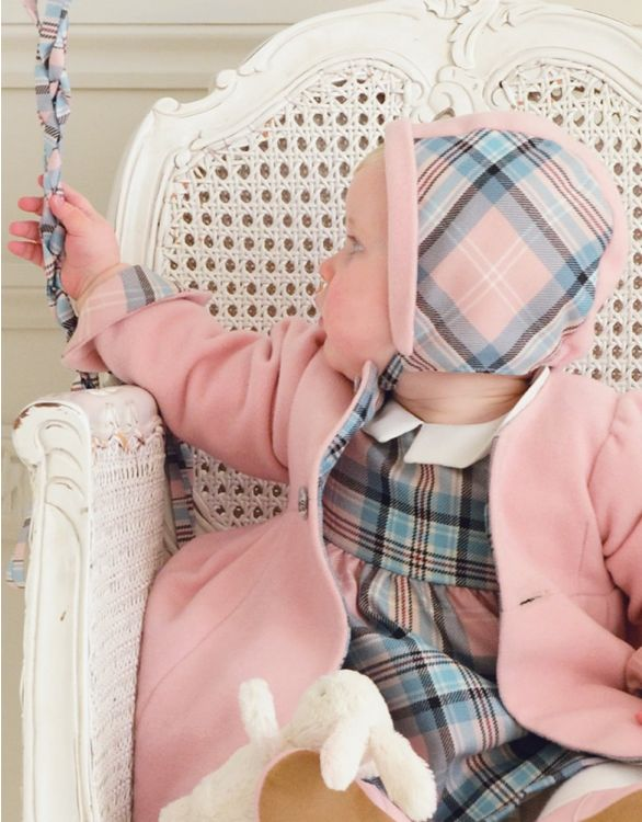 Image for Pink Baby Bonnet
