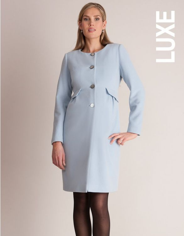 Image for Seraphine Natasha Cashmere Blend Maternity Coat