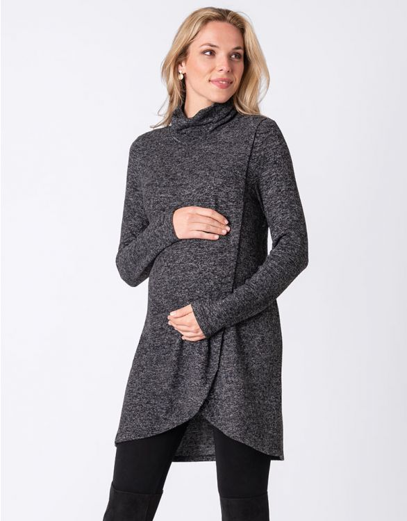 Image for Crossover Maternity & Nursing Tunic