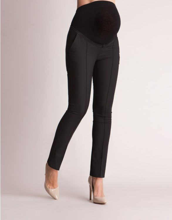 Image for Tailored Black Maternity Trousers