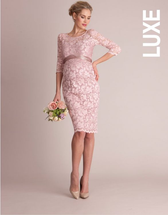 Bild für Blush Lace Maternity Cocktail Dress
