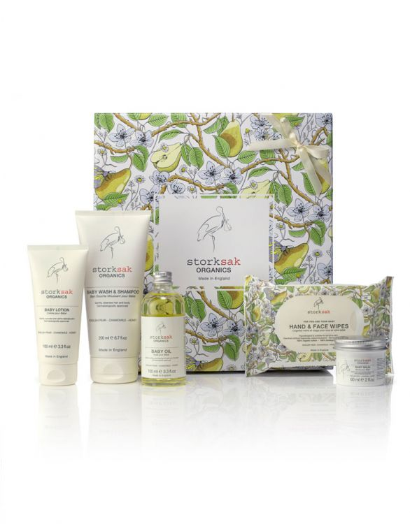 Image for Storksak Organic Baby Spa Gift Box