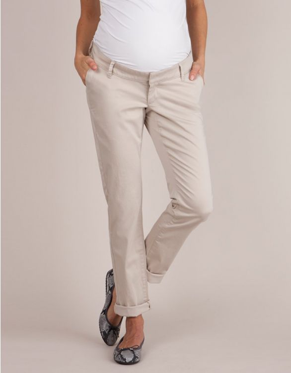 Image for Over Bump Maternity Chinos