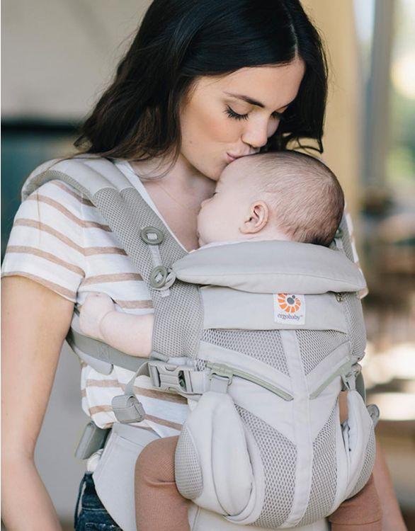 Bild für Ergobaby Omni 360 Cool Air Mesh Babytrage Grau