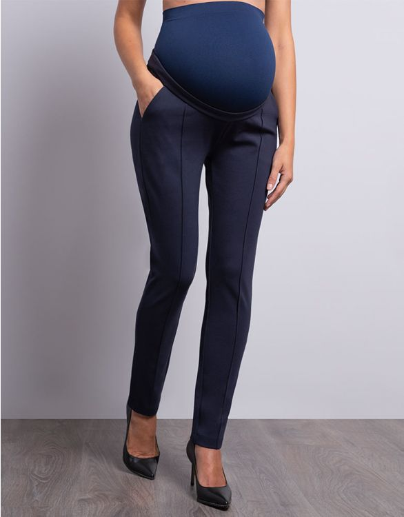 Image for Navy Blue Maternity Pants