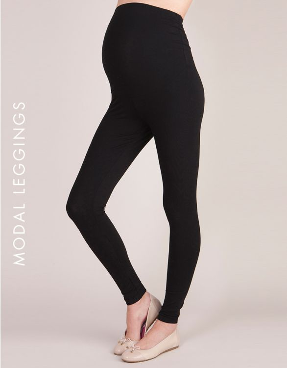 Image for Essential Over Bump Modal Maternity Leggings