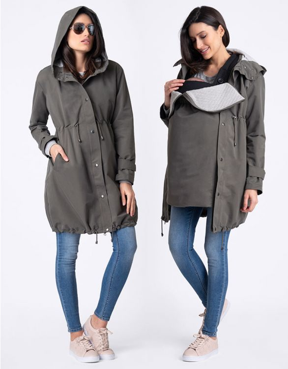 Image for 3 in 1 Mid-Weight Maternity Parka