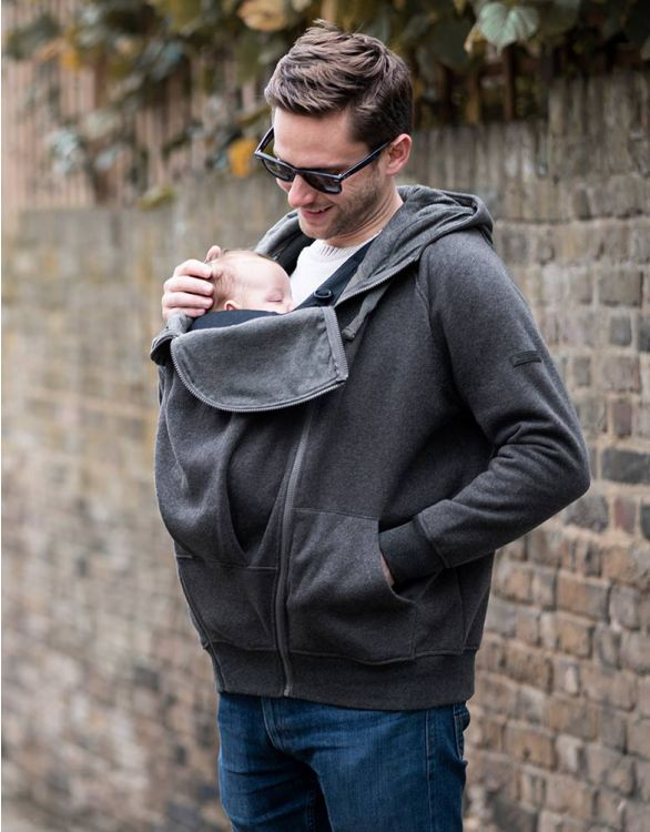 Image for Men's Hoodie with Baby Pouch