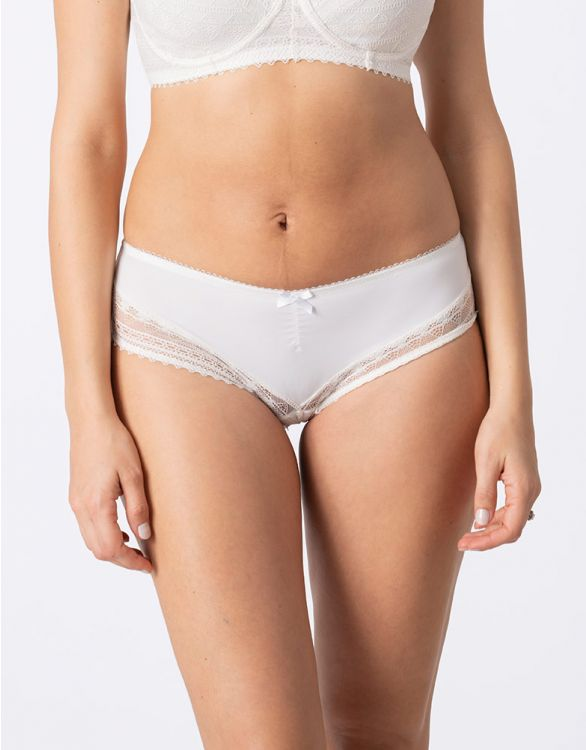 Image for Seraphine Ivory Lace Maternity Panties