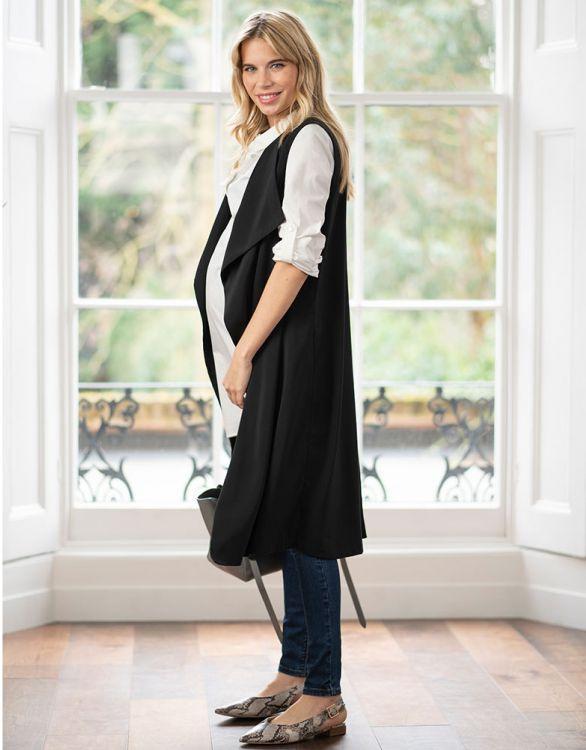 Image pour Veste grossesse longue sans manches
