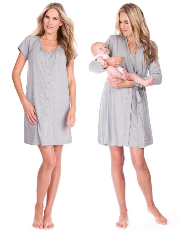 Image for The Sleep Kit - Modal & Cotton Maternity Nightwear