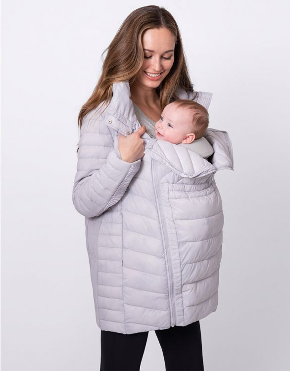 Image for 3 in 1 Quilted Spring Maternity Jacket