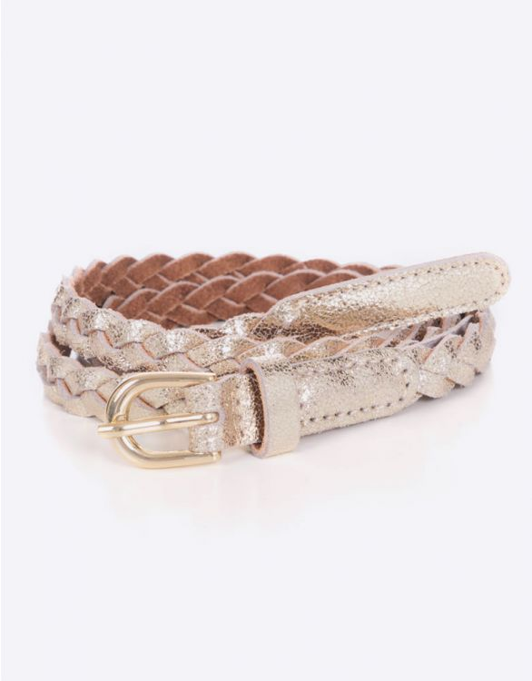 Image for Gold Braided Maternity Belt