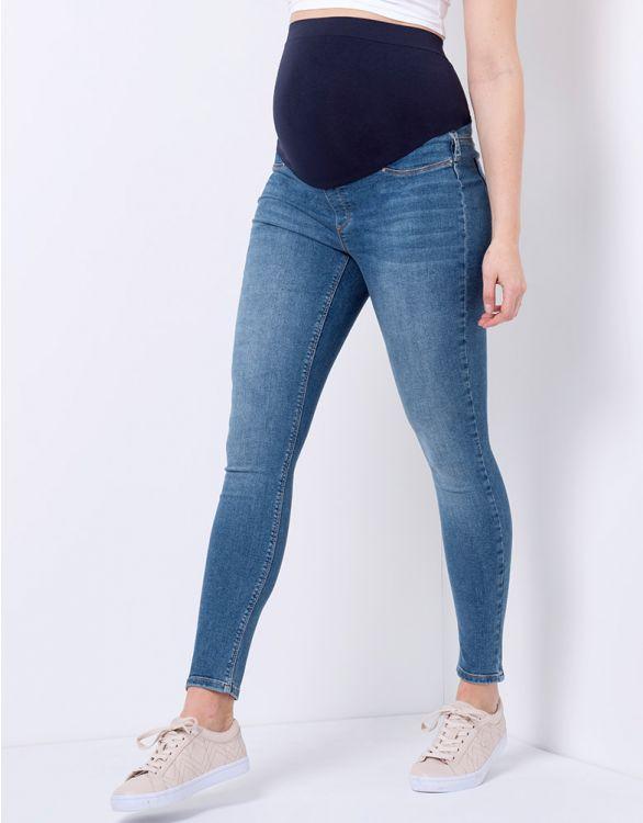 Immagine per  Jeans Premaman Super-Skinny a Vita Alta