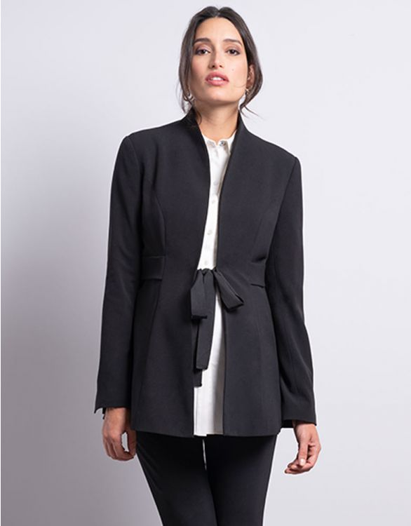 Image for Black Tailored Maternity Blazer
