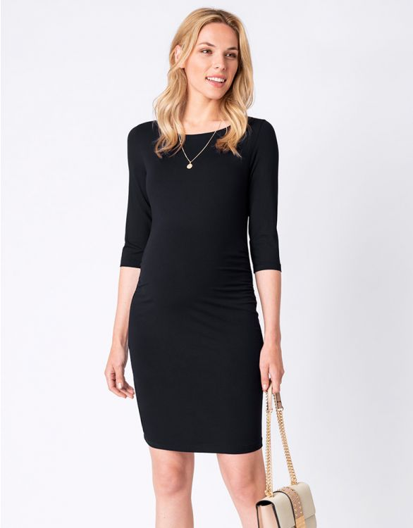 Image for Black Maternity Shift Dress