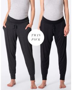 Maternity Lounge Pants – Twin Pack