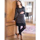 Knitted Cotton Maternity & Nursing Dress