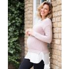 Cotton 2 in 1 Maternity & Nursing Jumper