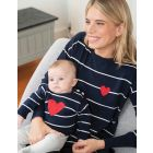 Mama & Mini Nautical Cotton Jumpers