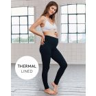 Black Thermal Maternity Leggings