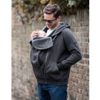 Men's Hoodie with Baby Pouch