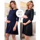 Maternity & Nursing Dresses – Twin Pack