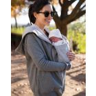 Cotton Blend 3 in 1 Maternity Hoodie
