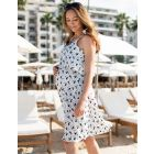 Printed Maternity & Nursing Sundress