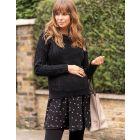 Double Layer Maternity & Nursing Tunic Dress